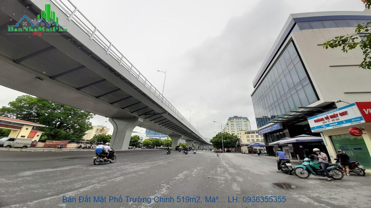 Bán nhà đất mặt phố Trường Chinh Hà Nội