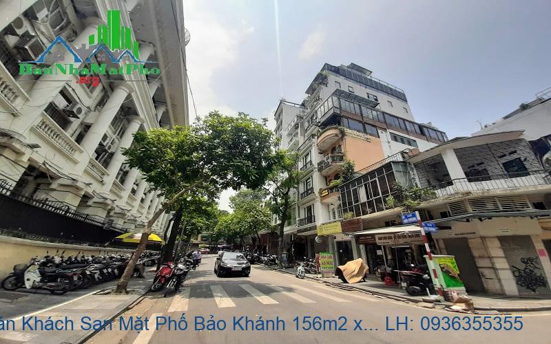 Bán Khách Sạn Mặt Phố Bảo Khánh 156m2 x 11 Tầng, Mặt Tiền 7,2m, 45 Phò