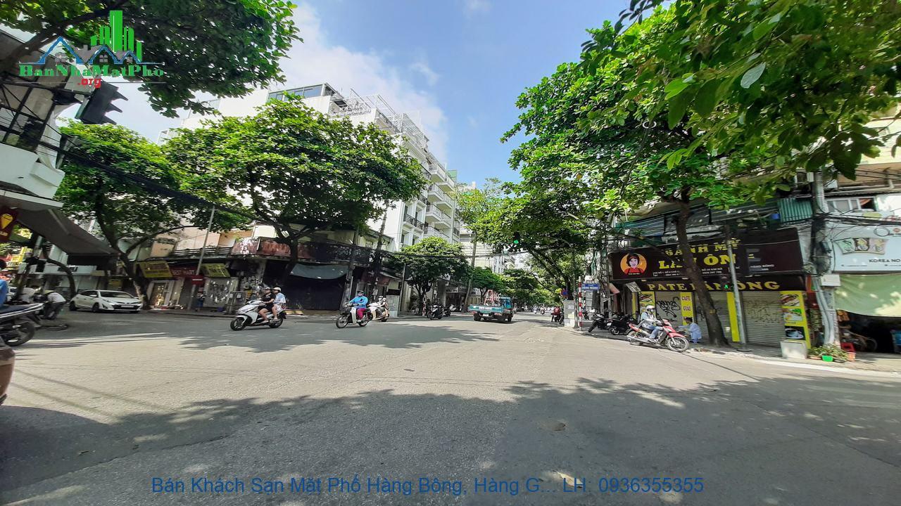 Bán Khách Sạn Mặt Phố Hàng Bông, Hàng Gai, 115m2 x 8 Tầng, 22 Phòng