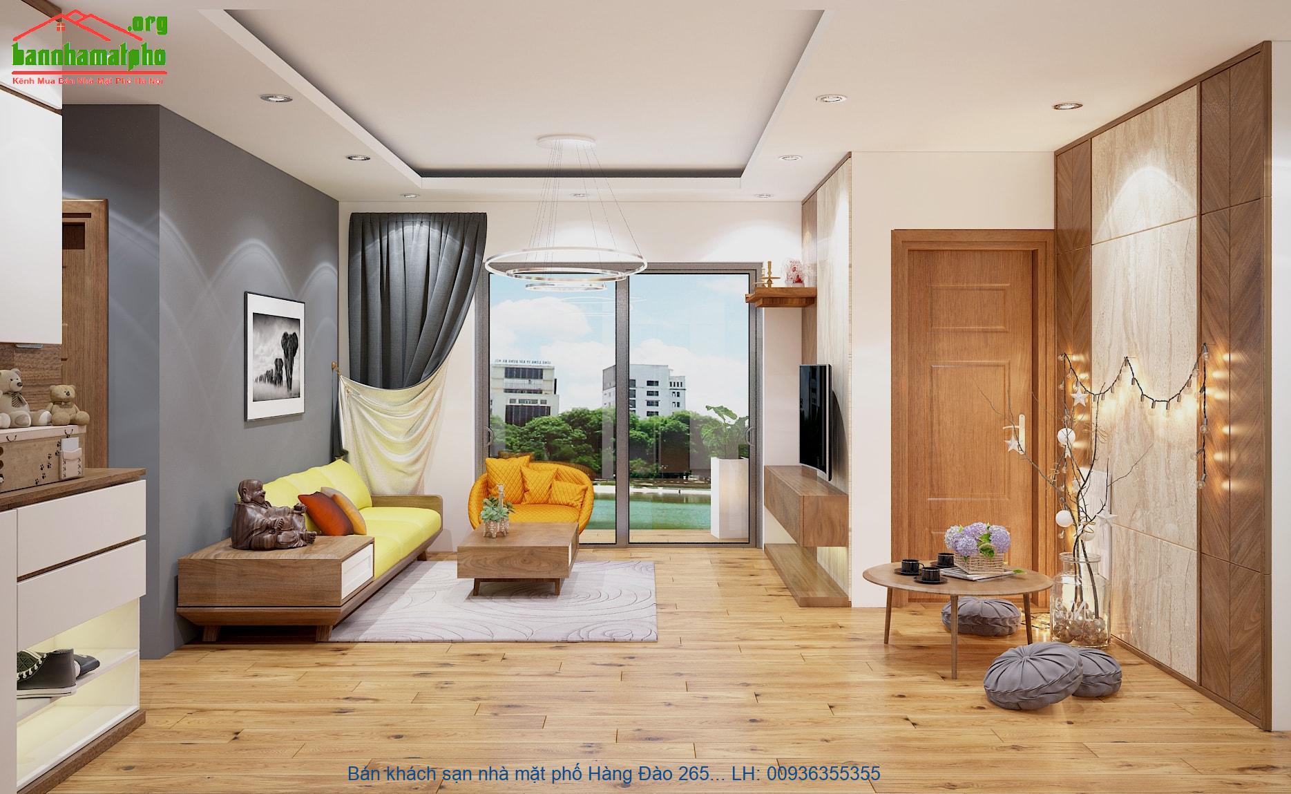 Bán khách sạn nhà mặt phố Hàng Đào 265m2x7T MT:6,7m giá 228tỷ