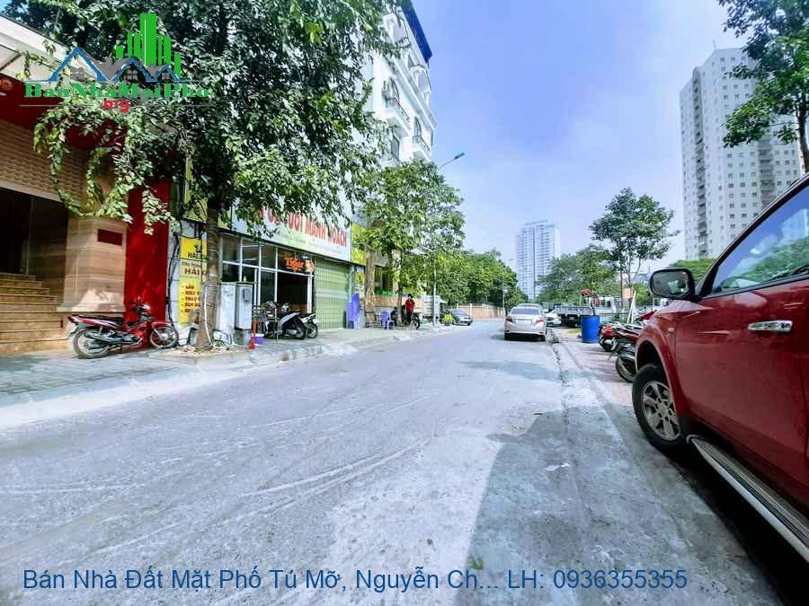 Bán Nhà Đất Mặt Phố Tú Mỡ, Nguyễn Chánh, 219m2, Mặt Tiền 13m, Giá Rẻ N