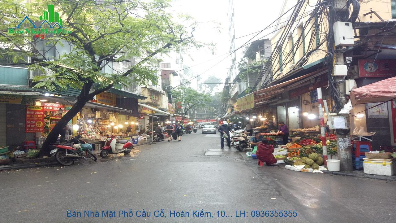 Bán Nhà Mặt Phố Cầu Gỗ, Hoàn Kiếm, 100m2, 7 Tầng, Mặt Tiền 4,8m