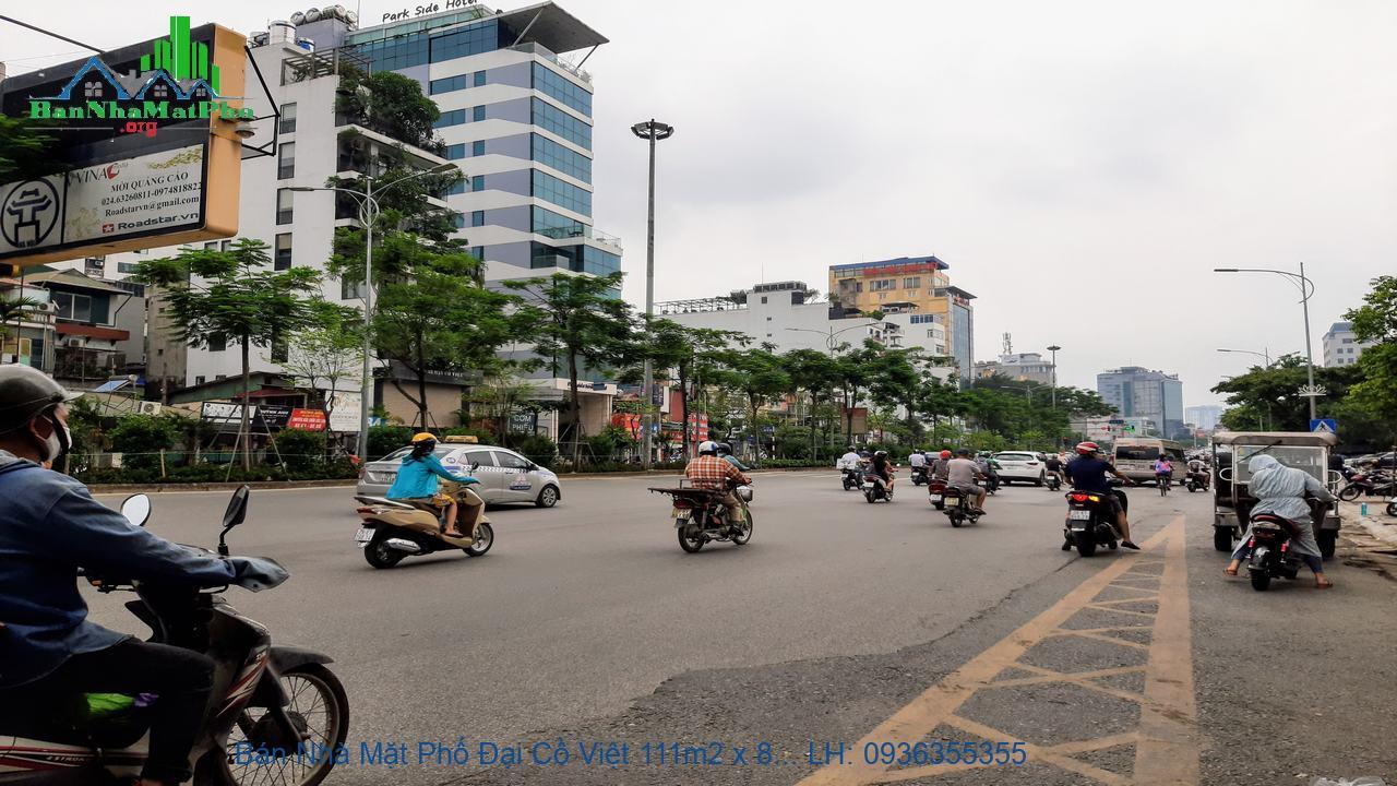 Bán Nhà Mặt Phố Đại Cồ Việt 111m2 x 8 Tầng, Mặt Tiền 6,5m, Giá Rẻ