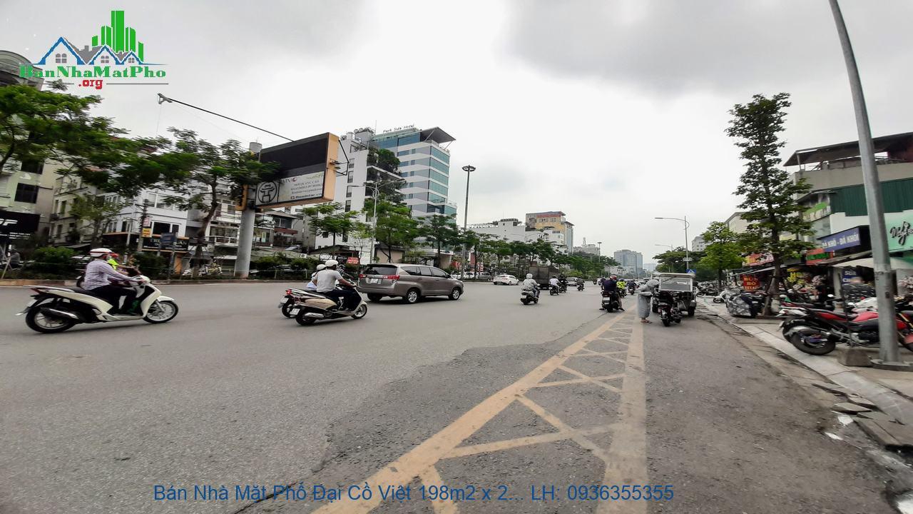 Bán Nhà Mặt Phố Đại Cồ Việt 198m2 x 2 Tầng, Mặt Tiền 7m, Giá Siêu Rẻ
