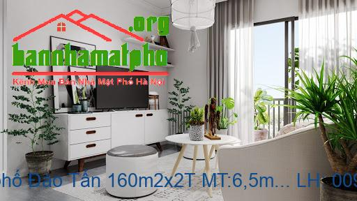 Bán nhà mặt phố Đào Tấn 160m2x2T MT:6,5m giá 39tỷ