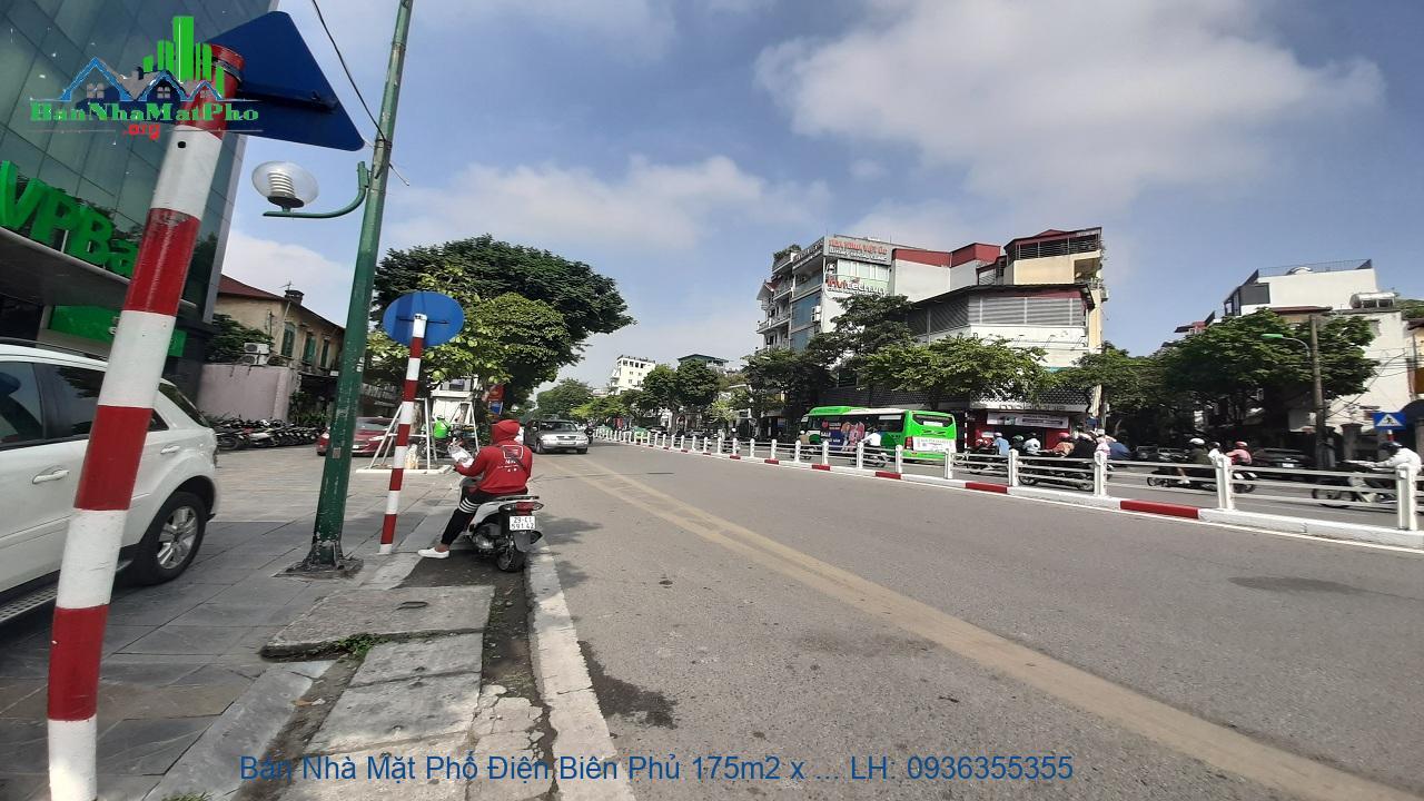 Bán nhà mặt phố Điện Biên Phủ