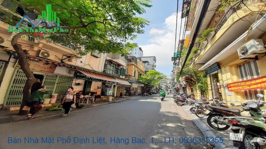 Bán Nhà Mặt Phố Đinh Liệt, Hàng Bạc, 199m2, 3 Tầng, Mặt Tiền 7,2m
