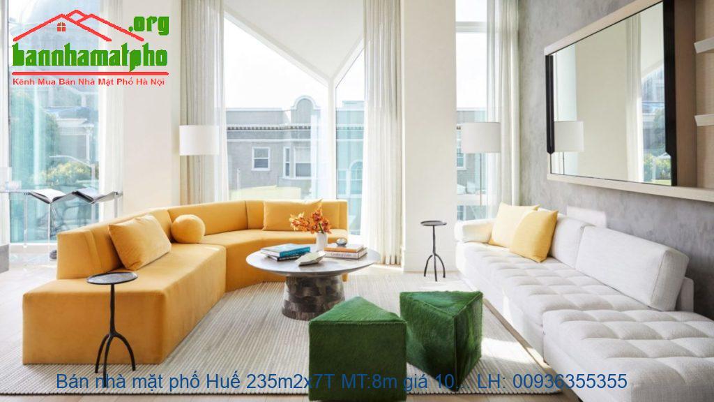 Bán nhà mặt phố Huế 235m2x7T MT:8m giá 108tỷ