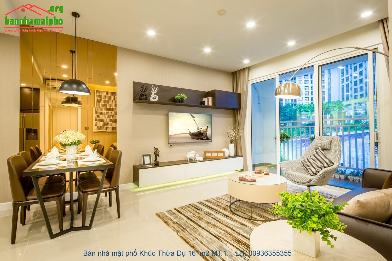Bán nhà mặt phố Khúc Thừa Dụ 161m2 MT:17m lô góc giá 69tỷ