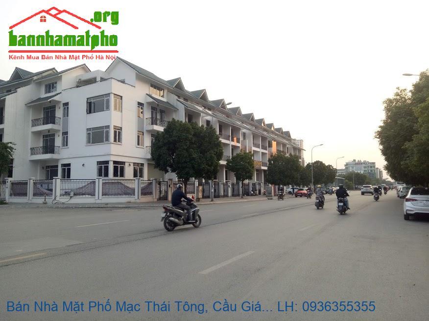 Bán Nhà Mặt Phố Mạc Thái Tông, Cầu Giấy, 99m2, 6 Tầng, Mặt Tiền 6m, Gi