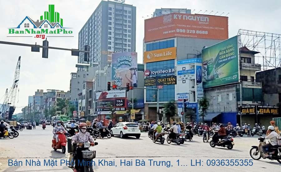 Bán Nhà Mặt Phố Minh Khai, Hai Bà Trưng, 152m2, Giá Rẻ Chỉ 200tr/m2