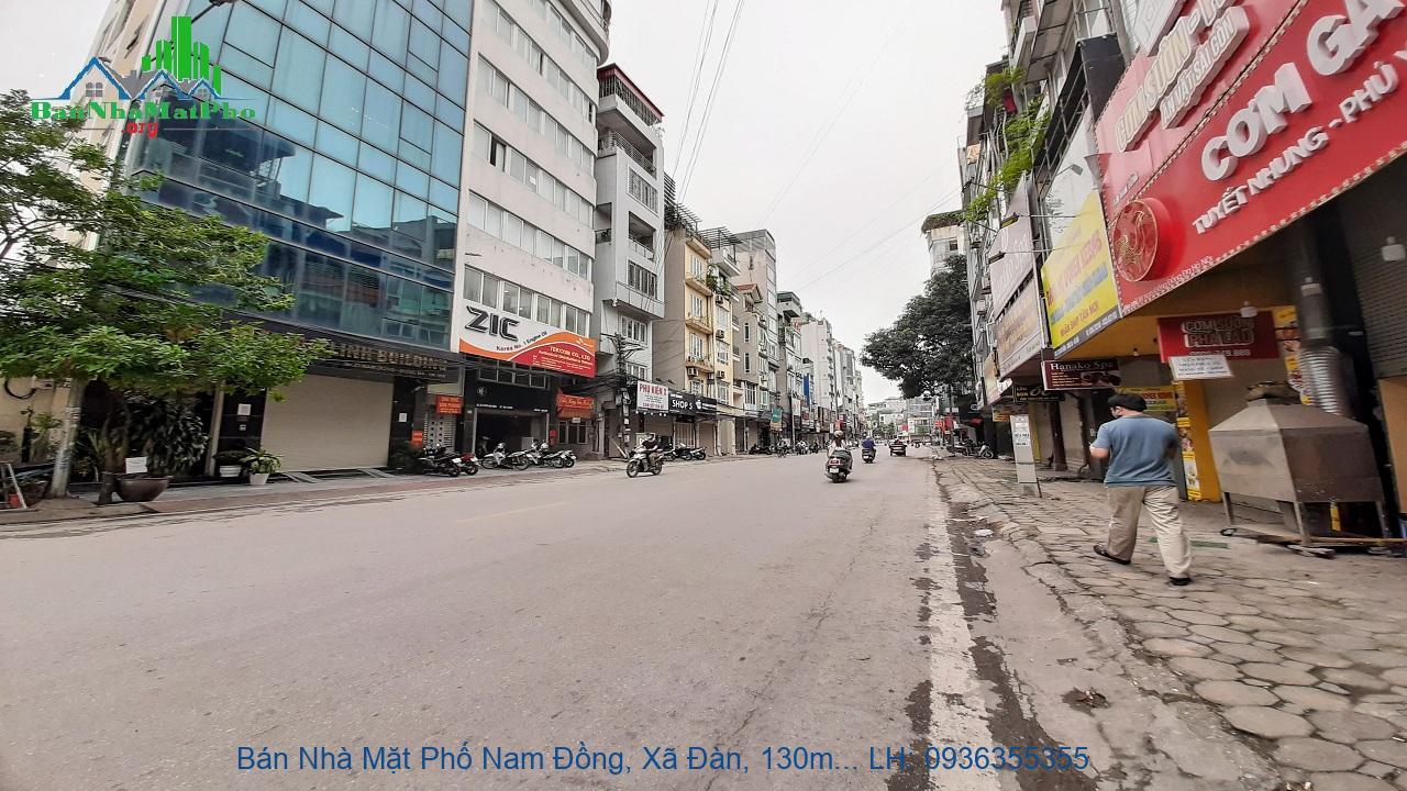Bán Nhà Mặt Phố Nam Đồng, Xã Đàn, 130m2, 8 Tầng, Mặt Tiền 6,2m, Giá Rẻ