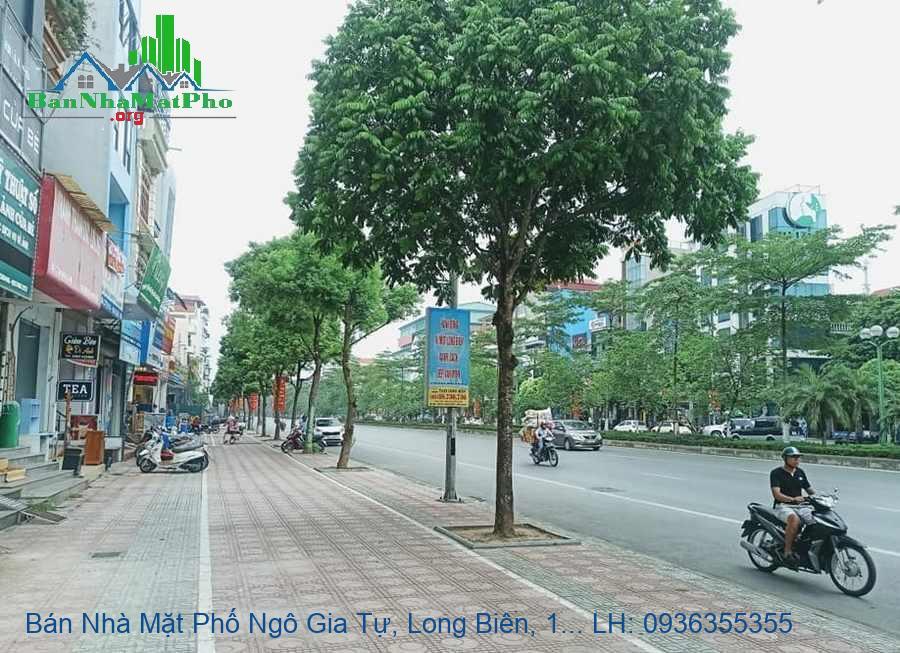 Bán Nhà Mặt Phố Ngô Gia Tự, Long Biên, 130m2, Giá Rẻ Chỉ 125tr/m2