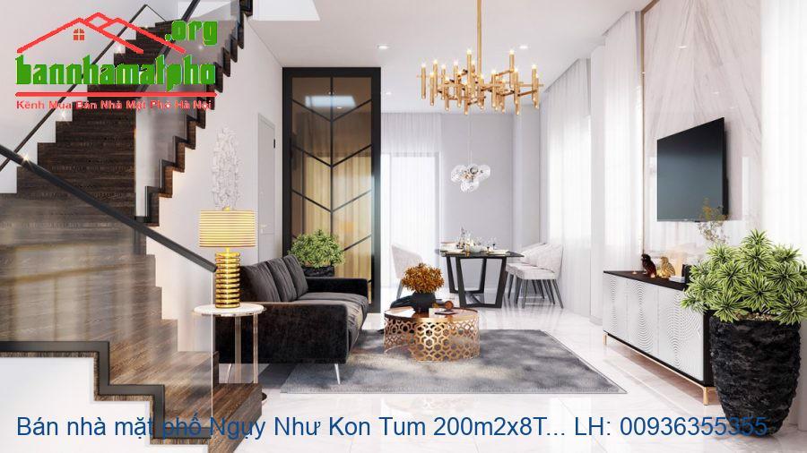 Bán nhà mặt phố Ngụy Như Kon Tum 200m2x8T MT:8m giá 59tỷ