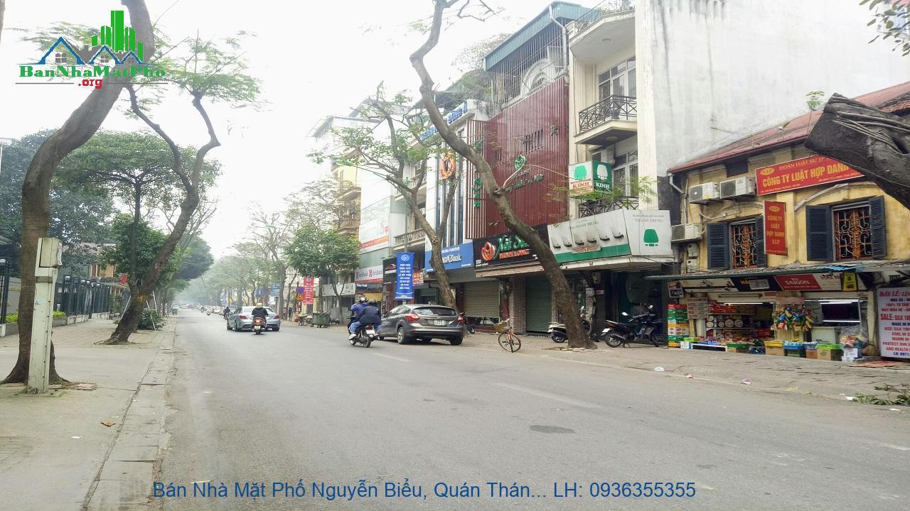 Bán Nhà Mặt Phố Nguyễn Biểu, Quán Thánh, 81m2, 5 Tầng, Mặt Tiền 5m