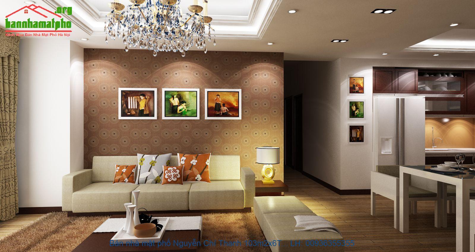 Bán nhà mặt phố Nguyễn Chí Thanh 103m2x6T MT:5m giá 40tỷ