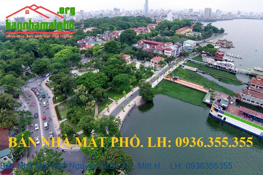 Bán Nhà Mặt Phố Nguyễn Đình Thi, Mặt Hồ Tây, 260m2, 7 Tầng, Mặt Tiền 1