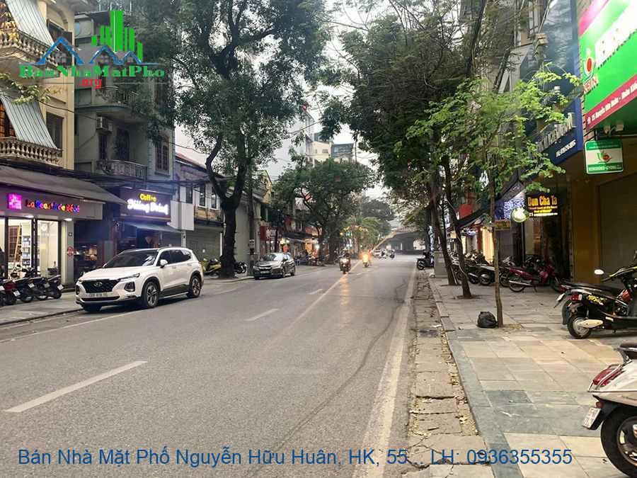 Bán Nhà Mặt Phố Nguyễn Hữu Huân, HK, 55m2, 3 Tầng, Vị Trí Đẹp