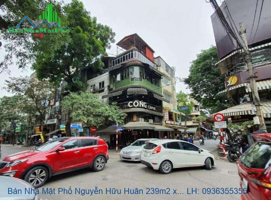 Bán Nhà Mặt Phố Nguyễn Hữu Huân 239m2 x 11 Tầng, MT 14m, TM, Giá Rẻ