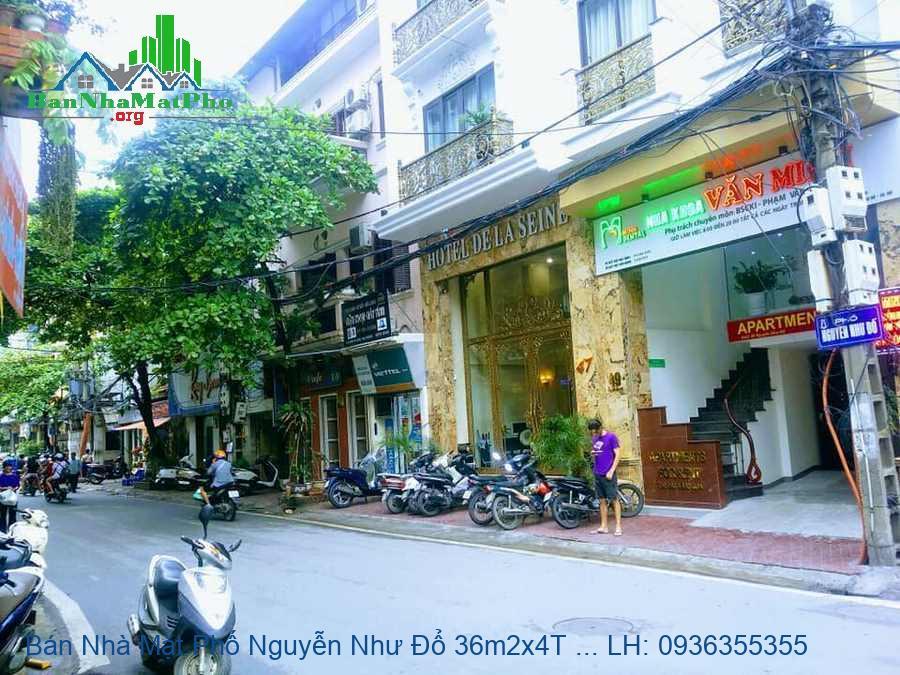 Bán Nhà Mặt Phố Nguyễn Như Đổ 36m2x4T MT:3m2 Giá Siêu Rẻ