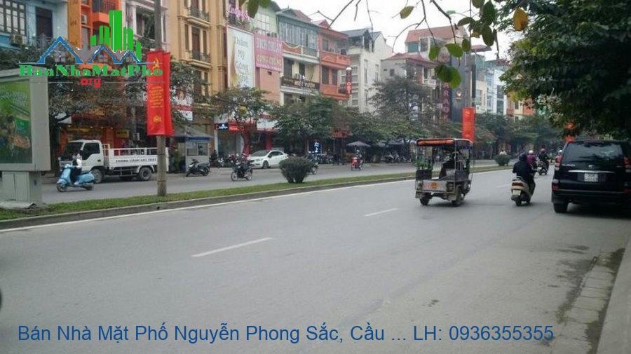 Bán Nhà Mặt Phố Nguyễn Phong Sắc, Cầu Giấy, 50m2, 5 Tầng, Mặt Tiền 4m