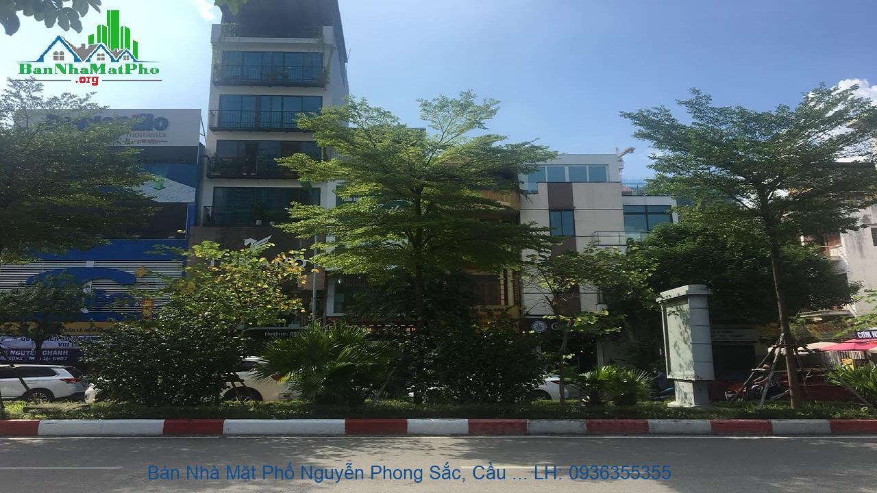 Bán Nhà Mặt Phố Nguyễn Phong Sắc, Cầu Giấy, 51m2, 5 Tầng, Mặt Tiền 4,5
