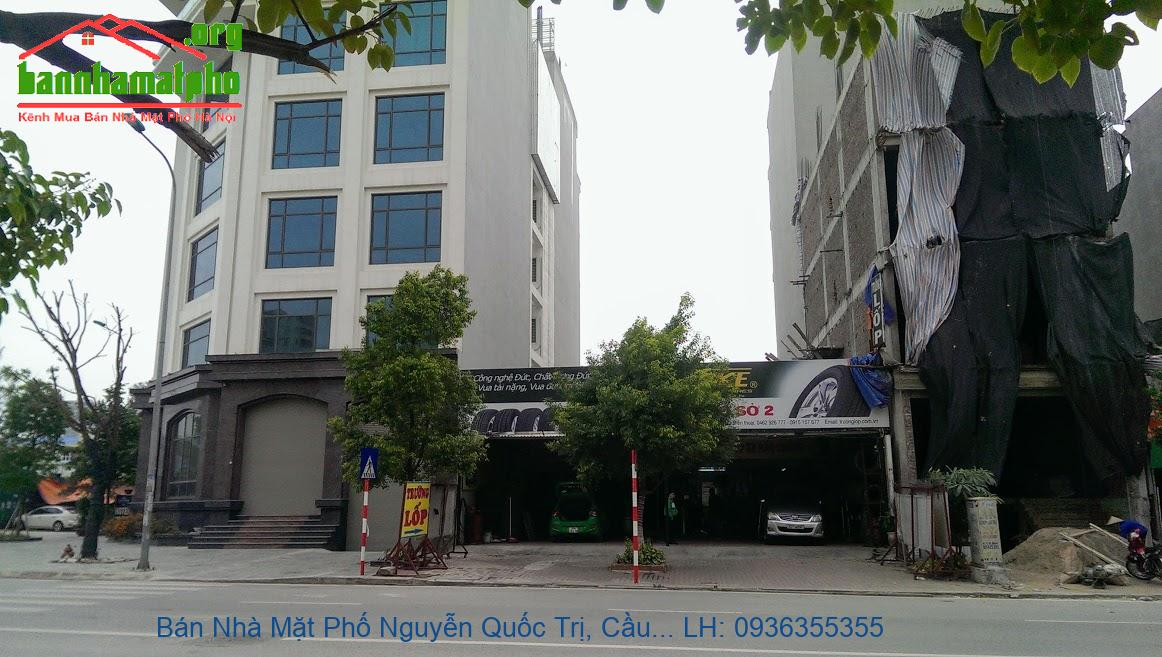 Bán Nhà Mặt Phố Nguyễn Quốc Trị, Cầu Giấy, 105m2, 8 Tầng, Mặt Tiền 6,5
