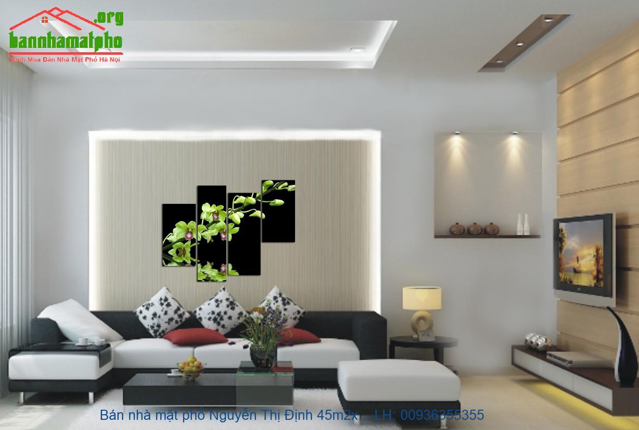 Bán nhà mặt phố Nguyễn Thị Định 45m2x4T giá 20tỷ