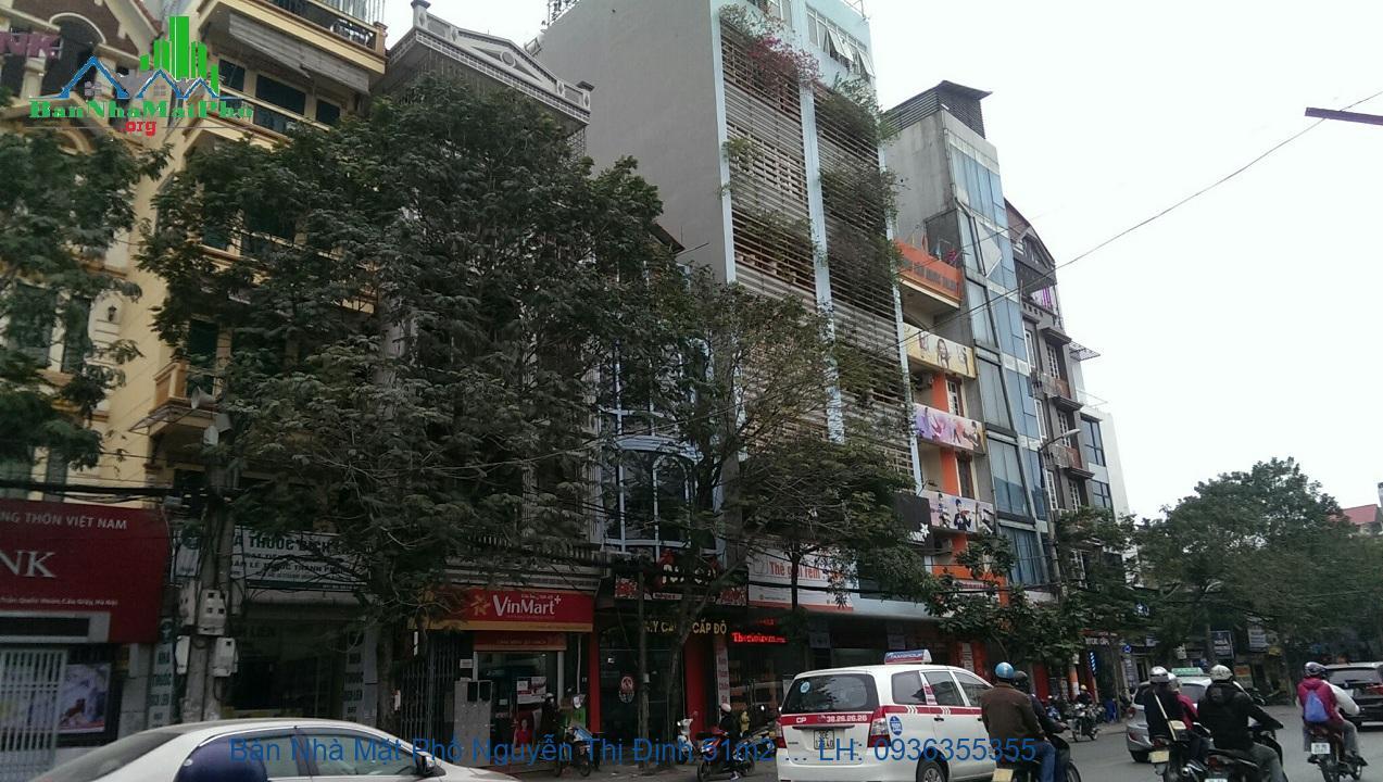 Bán Nhà Mặt Phố Nguyễn Thị Định 51m2 x 5 Tầng, Mặt Tiền 4m, Giá Rẻ