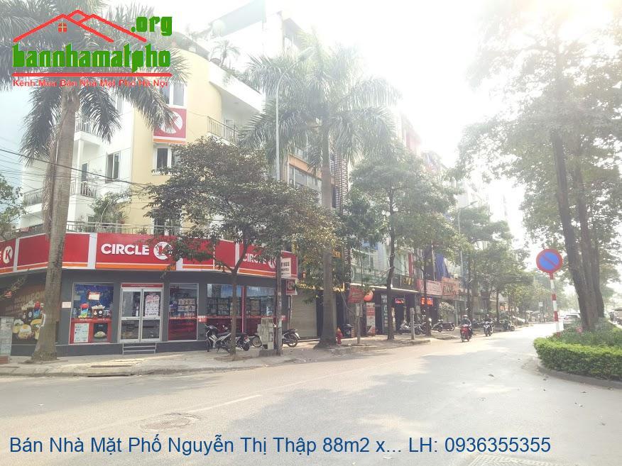 Bán Nhà Mặt Phố Nguyễn Thị Thập 88m2 x 7 Tầng MT 7m5 Giá Rẻ