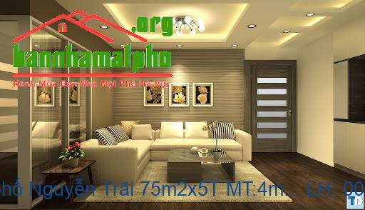 Bán nhà mặt phố Nguyễn Trãi 75m2x5T MT:4m giá 21tỷ