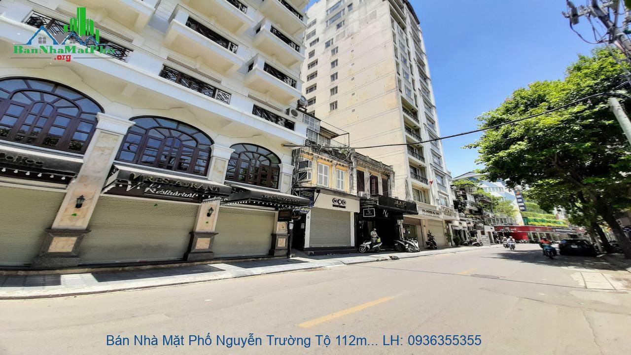 Bán Nhà Mặt Phố Nguyễn Trường Tộ 112m2 x 11 Tầng, Đẹp Và Giá Tốt