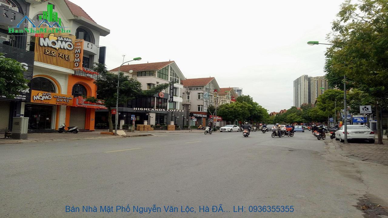 Bán Nhà Mặt Phố Nguyễn Văn Lộc, Hà Đông, 280m2, 4 Tầng, Lô Góc, Giá Rẻ