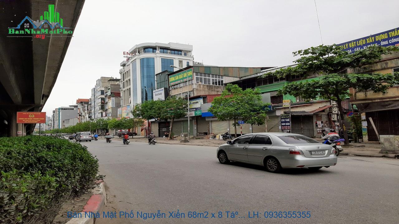 Bán Nhà Mặt Phố Nguyễn Xiển 68m2 x 8 Tầng, Mặt Tiền 4m, Chỉ 20 Tỷ