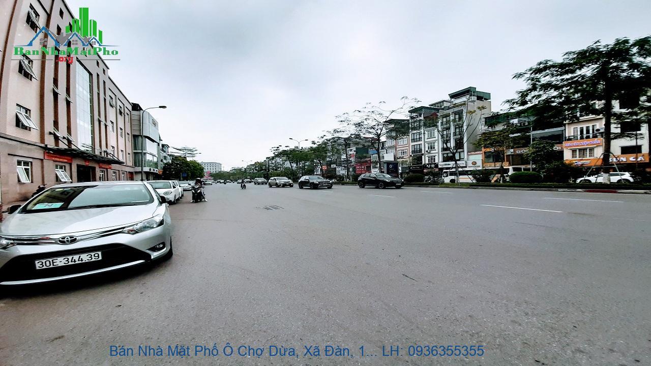 Bán Nhà Mặt Phố Ô Chợ Dừa, Xã Đàn, 121m2, 2 Mặt Phố, Mặt Tiền Rộng