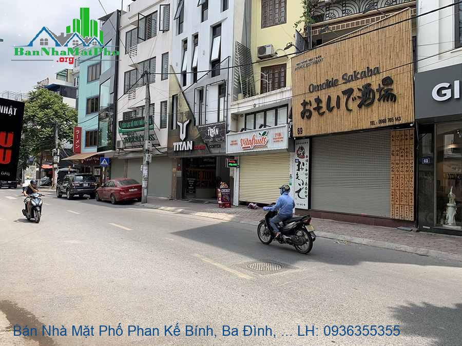 Bán Nhà Mặt Phố Phan Kế Bính, Ba Đình, 89m2, 7 Tầng, Mặt Tiền 7m