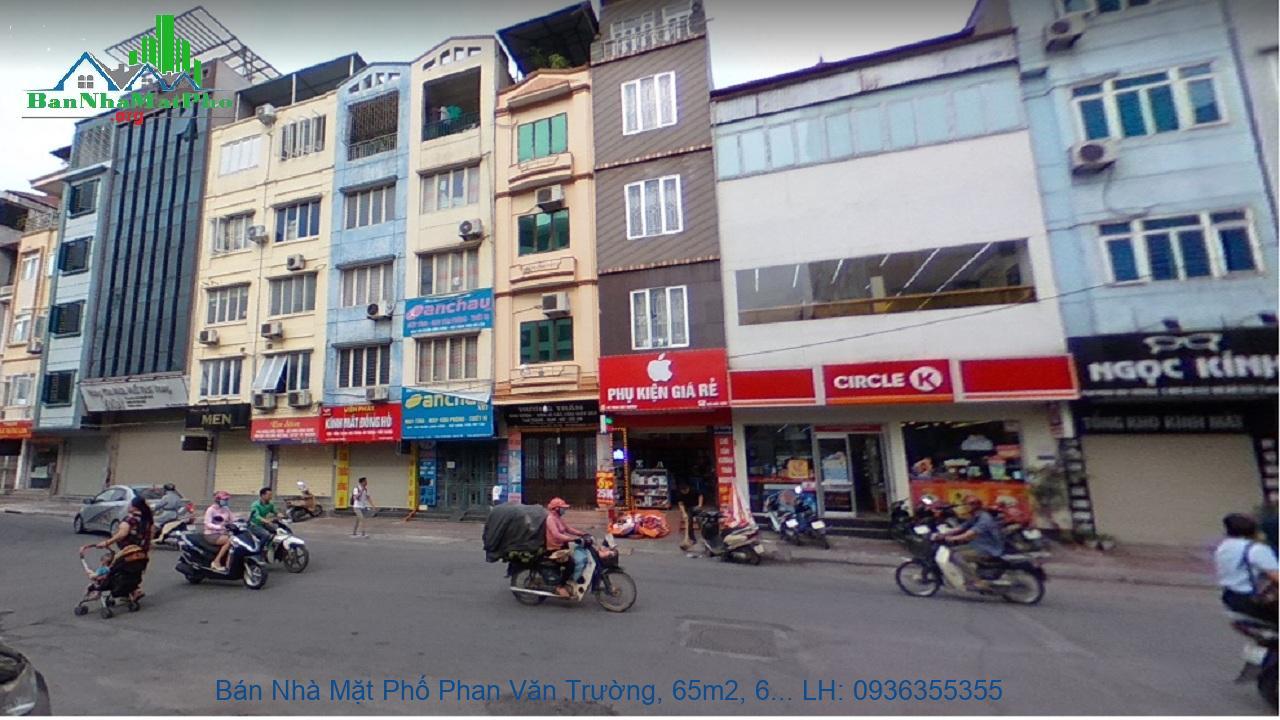 Bán Nhà Mặt Phố Phan Văn Trường, 65m2, 6 Tầng, MT 6,5m, Thang Máy