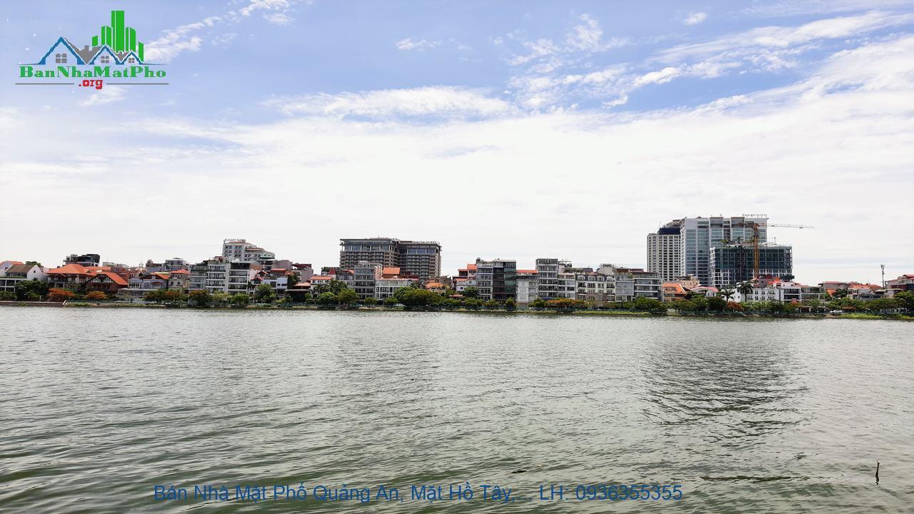 Bán Nhà Mặt Phố Quảng An, Mặt Hồ Tây, 159m2, Mặt Tiền 6m, 3 Tầng