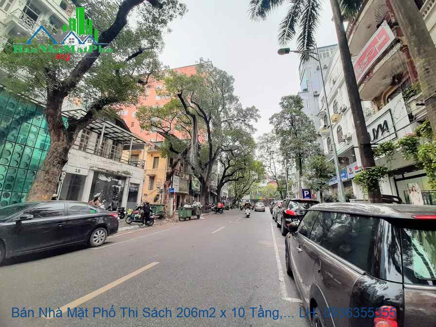 Bán Nhà Mặt Phố Thi Sách 206m2 x 10 Tầng, MT 7,5m, Thang Máy, Giá Rẻ