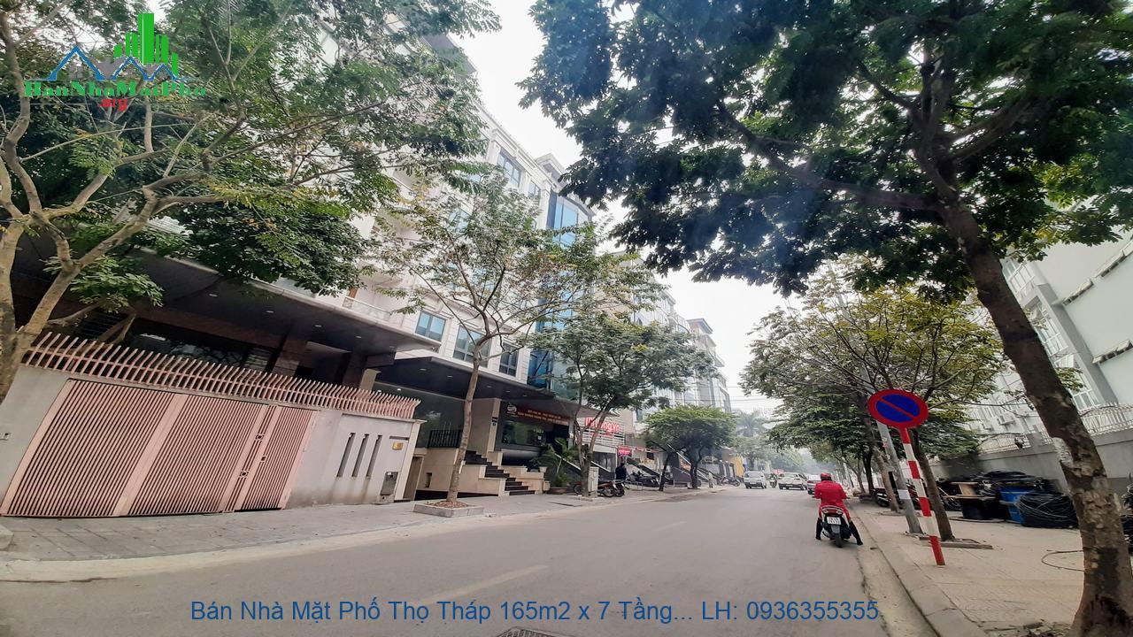 Bán Nhà Mặt Phố Thọ Tháp 165m2 x 7 Tầng, Mặt Tiền 11m, Giá Rẻ