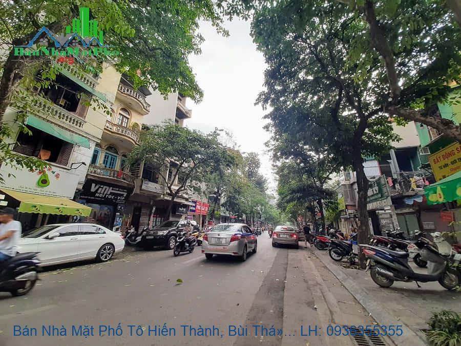 Bán Nhà Mặt Phố Tô Hiến Thành, Bùi Thị Xuân, 210m2, Mặt Tiền 10,5m