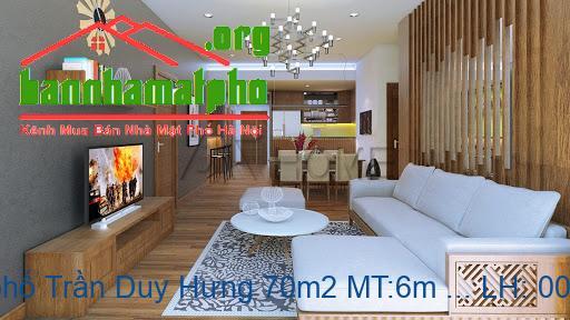 Bán nhà mặt phố Trần Duy Hưng 70m2 MT:6m giá 32tỷ
