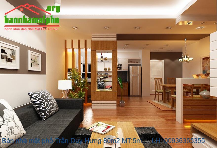 Bán nhà mặt phố Trần Duy Hưng 80m2 MT:5m giá 38tỷ