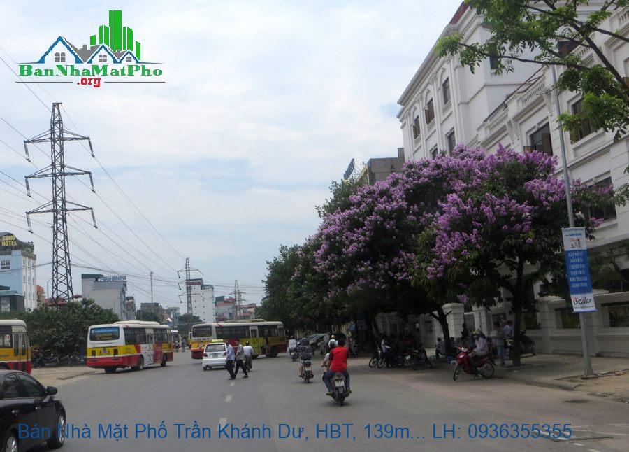 Bán Nhà Mặt Phố Trần Khánh Dư, HBT, 139m2, Mặt Tiền 7,5m, Giá Rẻ 250tr