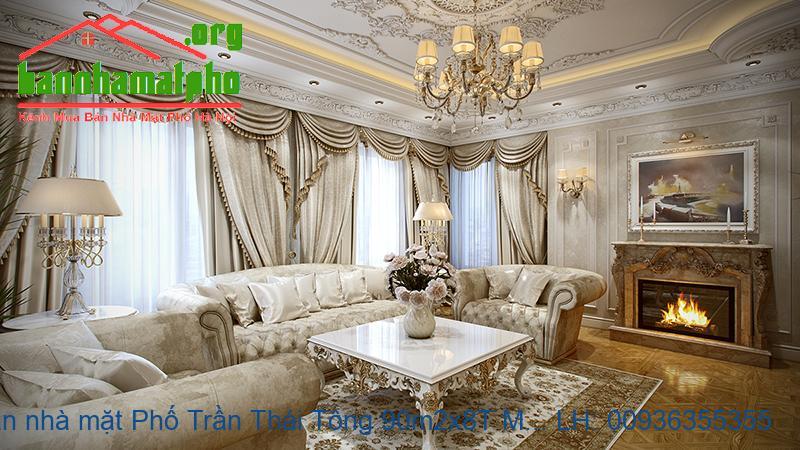 Bán nhà mặt Phố Trần Thái Tông 90m2x8T MT:6m giá 45tỷ
