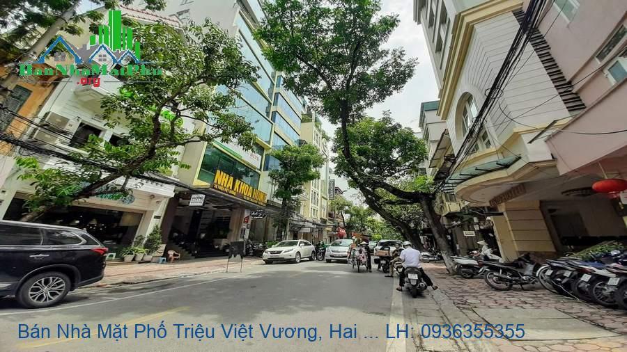 Bán Nhà Mặt Phố Triệu Việt Vương, Hai Bà Trưng, 193m2, 3T, MT: 7,8m, G