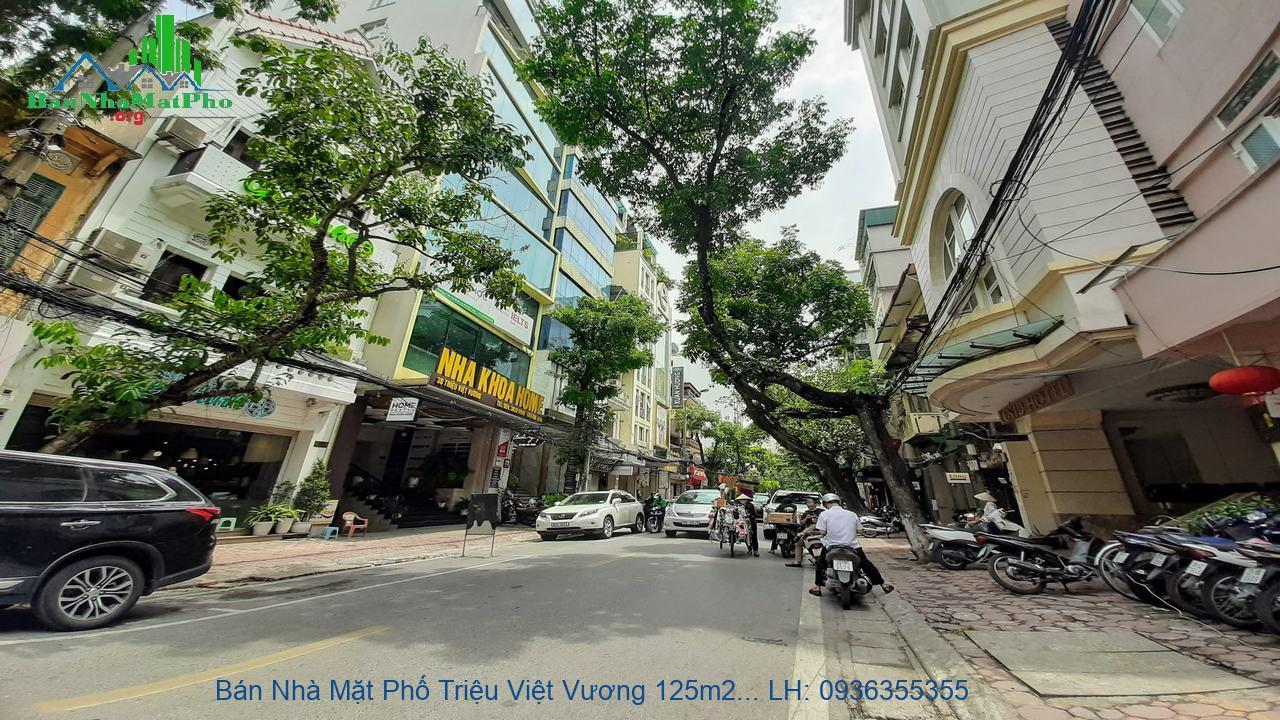 Bán Nhà Mặt Phố Triệu Việt Vương 125m2 x 9 Tầng, Mặt Tiền 5,5m, Giá Rẻ