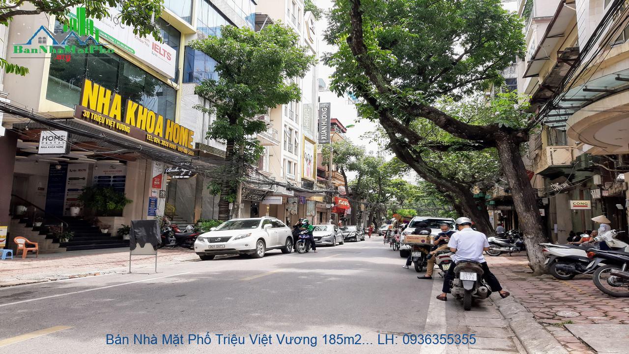 Bán Nhà Mặt Phố Triệu Việt Vương 185m2 x 13 Tầng, Mặt Tiền 8m, Đầu Tư