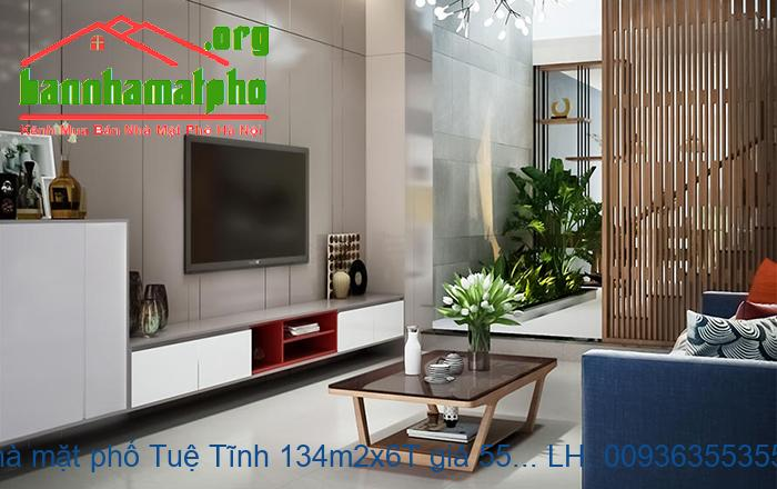 Bán nhà mặt phố Tuệ Tĩnh 134m2x6T giá 55tỷ