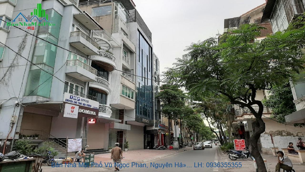 Bán Nhà Mặt Phố Vũ Ngọc Phan, Nguyên Hồng, 81m2, 5 Tầng, 2 Mặt Đường